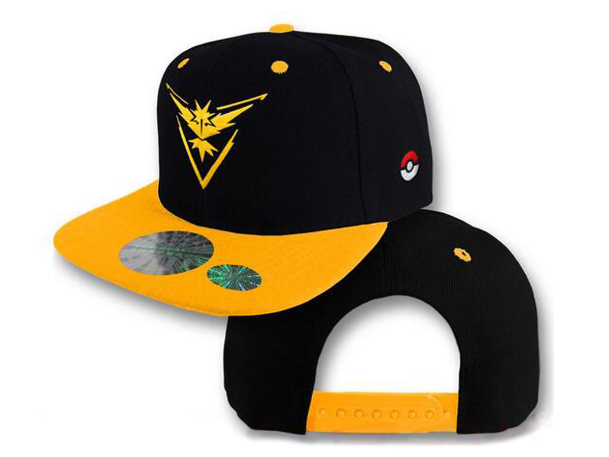 Gorra Team Instinct Pokemon Go  8015572560a