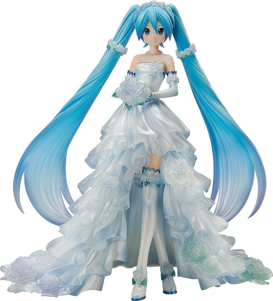 Hatsune Miku Wedding Dress Figure Vocaloid Character Vocal Series 01 Spring Clothes Taito Kurogami Anime Manga Shop
