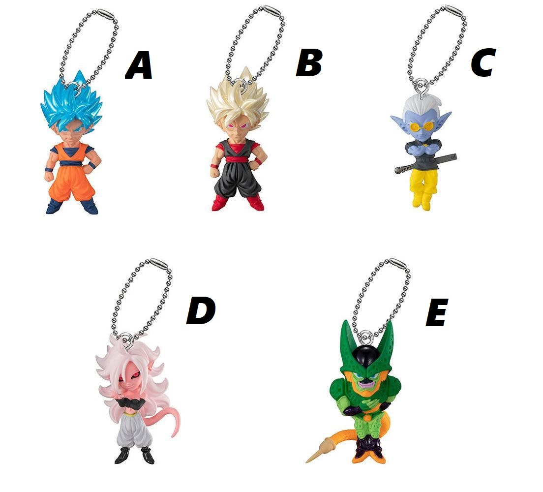 BANDAI DRAGON BALL Z Super UDM BURST Vol.36 Mini Figure Son Goku clone Japan NEW