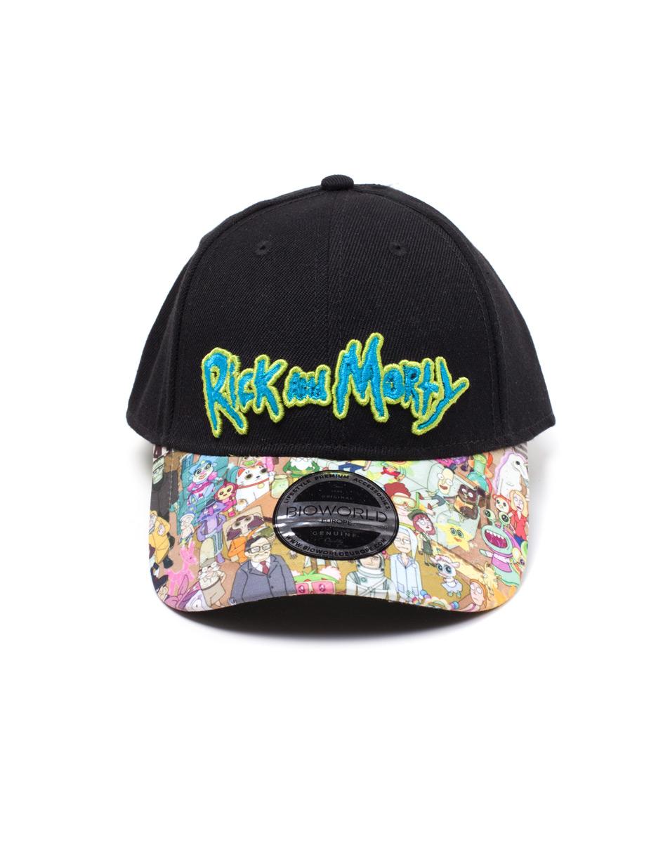 Total Rickall Rick and morty Cap  a8da0f09fe0