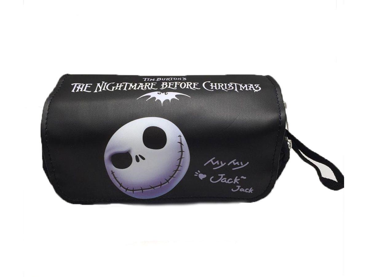 Leather Pencil Bag Nightmare Before Christmas | Kurogami Anime ...