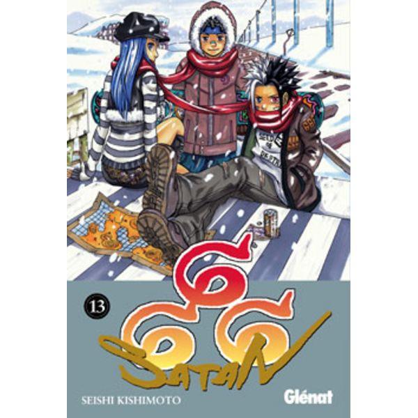 666 Satan #13 (Spanish) Manga Oficial Glenat