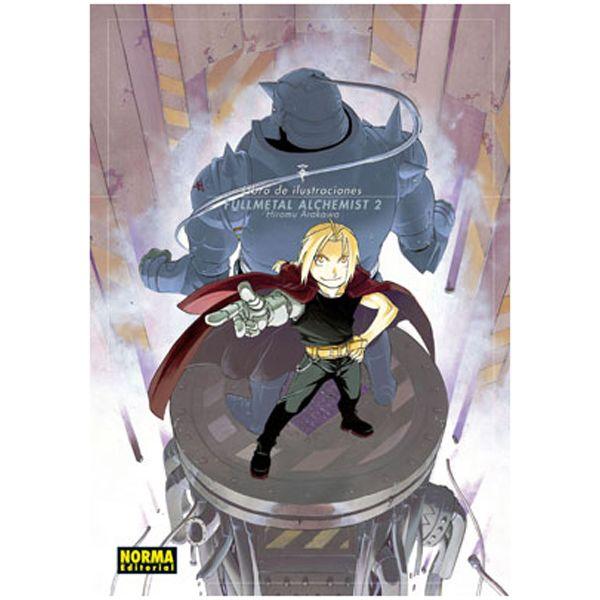 Fullmetal Alchemist Artbook #02 (Spanish) Oficial Norma Editorial