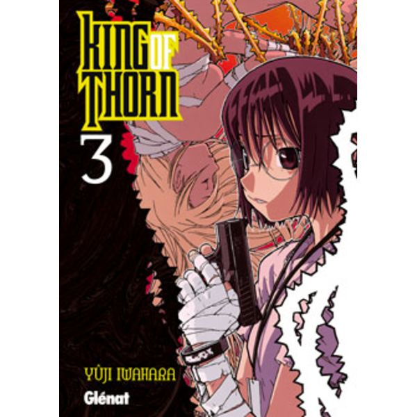 King of thorn #03 (Spanish) Manga Oficial Glenat