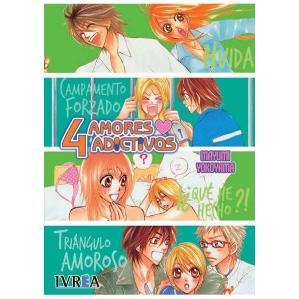 4 Amores Adictivos (Spanish) Manga Oficial Ivrea