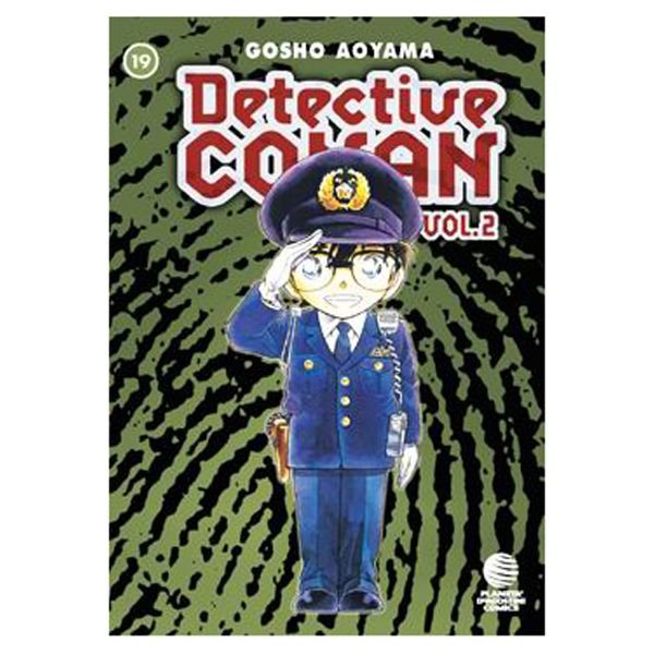 Detective Conan Vol 2 #19 Manga Oficial Planeta Comic