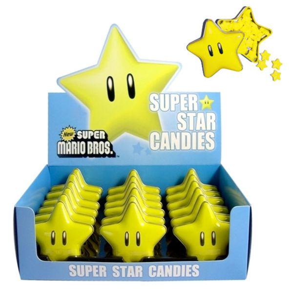 Caramelos NINTENDO - Super Star Candies