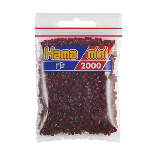 Hama Mini Bag burgundy / mahogany 2000 pieces No. 501-30