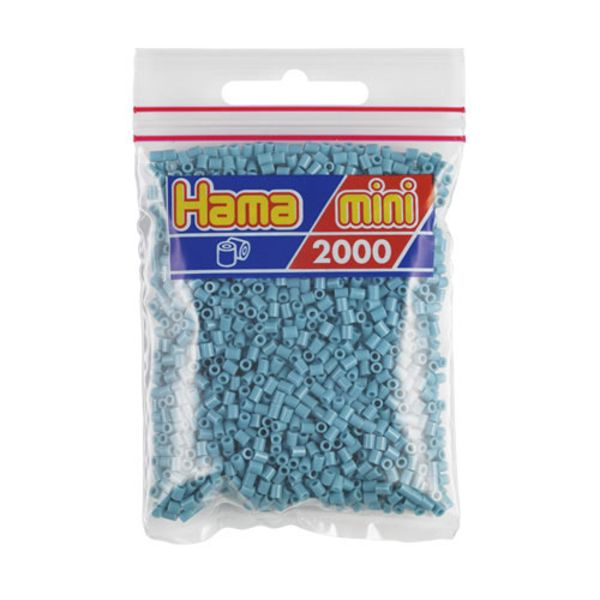 Hama Mini Bag turquoise 2000 pieces No. 501-31