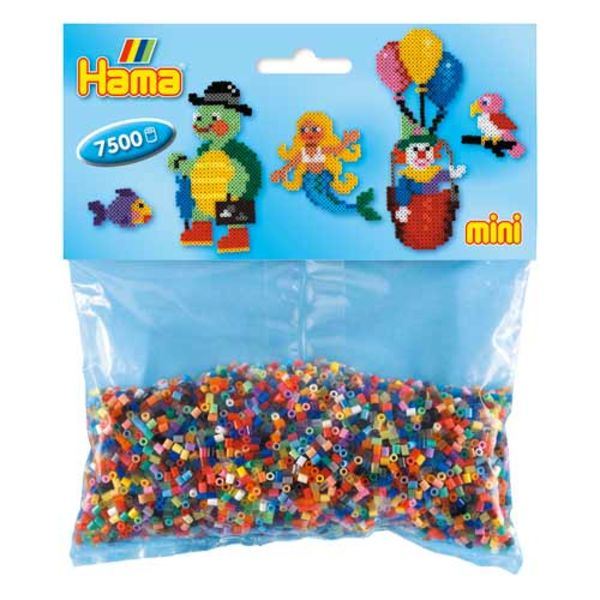 Hama Mini Bag 7500 Color mixture of 48 parts # 583