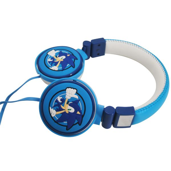 Sonic The Hedgehog Auriculares Gaming 3D Blue