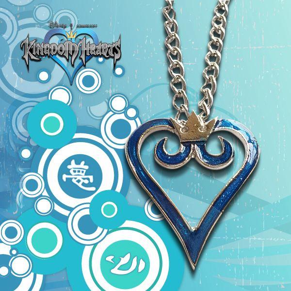 Kingdom Hearts Necklace Logo Kurogami Anime Manga Shop