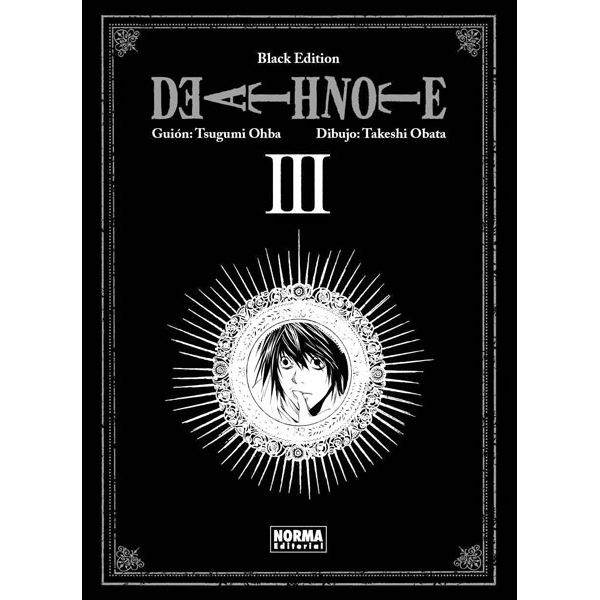Death Note Black Edition #03 Manga Oficial Norma Editorial