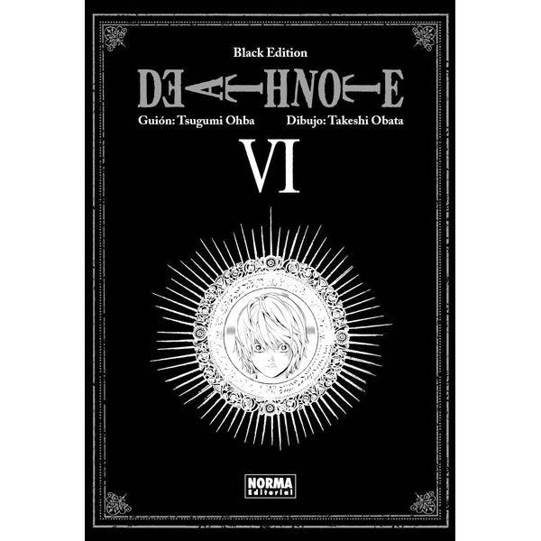 Death Note Black Edition #06 Manga Oficial Norma Editorial