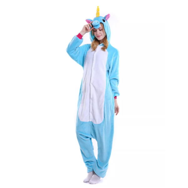 Kigurumi Blue Unicorn