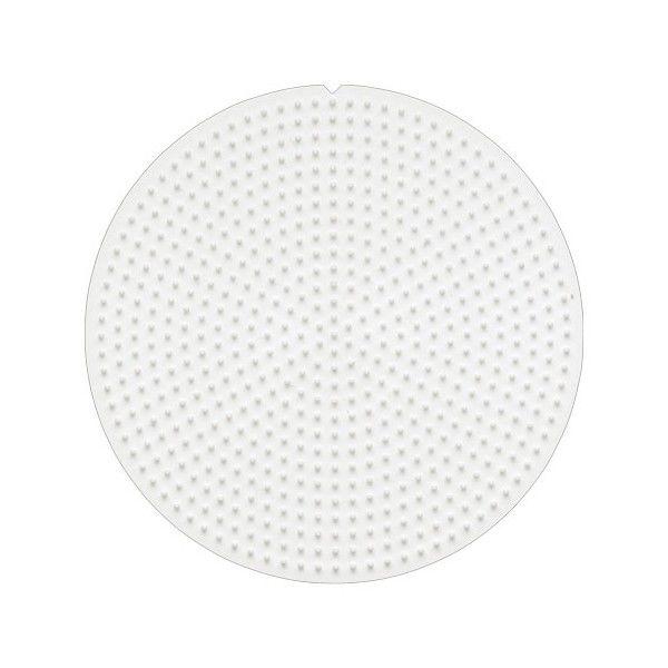 Placa / Pegboard redonda pequeña para Hama Mini