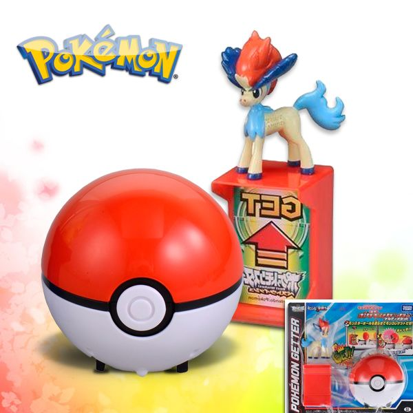 Figura Pokemon Getter - Keldeo pokeball