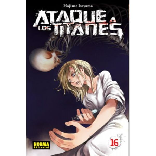 Ataque a los Titanes #16 (spanish) Manga Oficial Norma Editorial