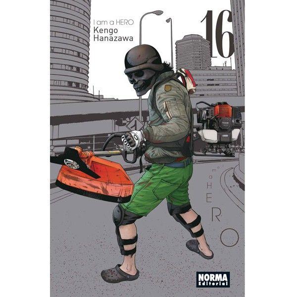 I AM A HERO #16 (Spanish) Manga Oficial Norma Editorial