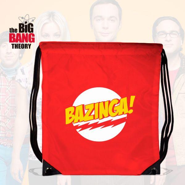 Bolso GYM The Big Band Theory - Bazinga
