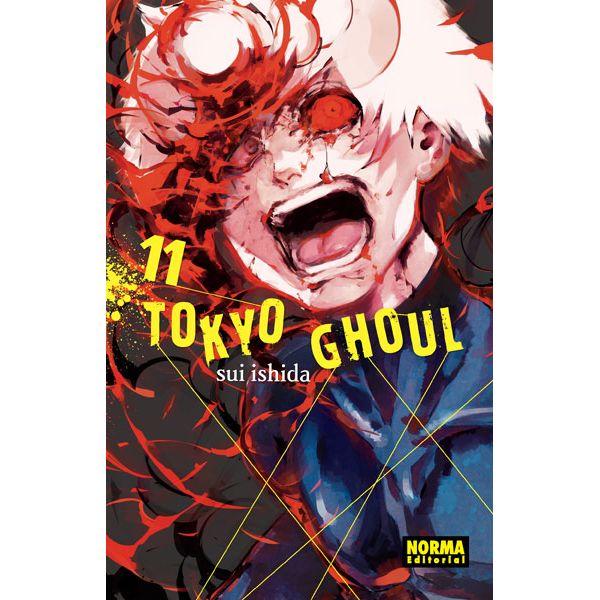 Tokyo Ghoul #11 ( Spanish ) Manga Oficial Norma Editorial