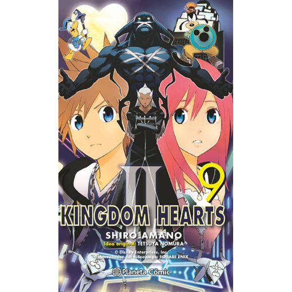 Kingdom Hearts II #09 Manga Oficial Planeta Comic