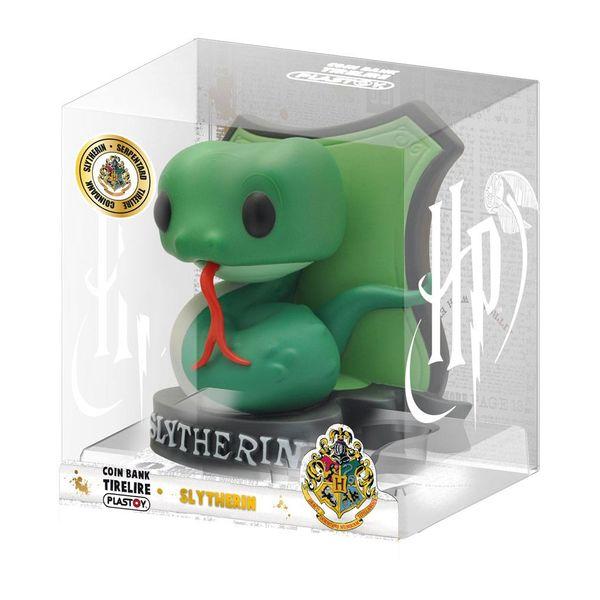 Slytherin Chibi Piggy Bank Harry Potter