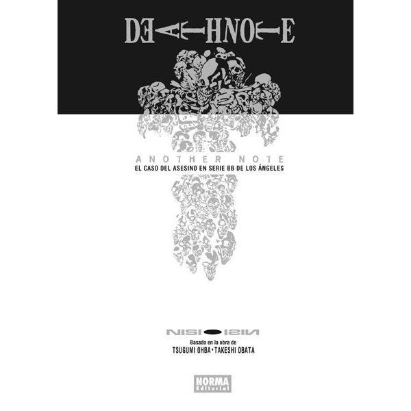 Death Note Another Note El Caso Del Asesino en serie BB de los Ángeles (Novela) Oficial Norma Editorial (Spanish)