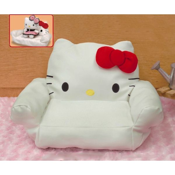 Stuffed sofa Hello Kitty Hello Kitty To Isho