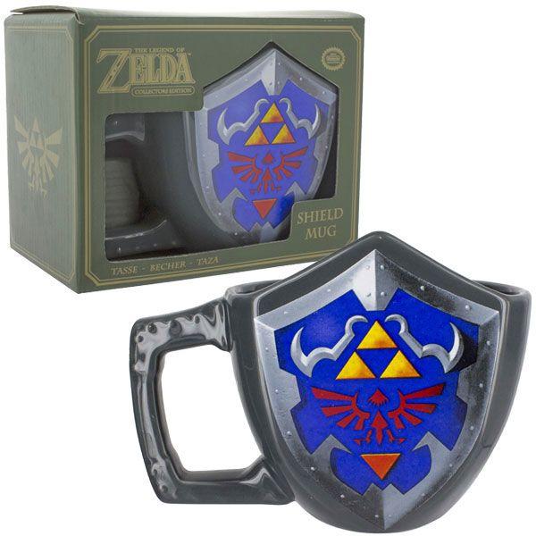 Taza Escudo Hyliano The Legend of Zelda