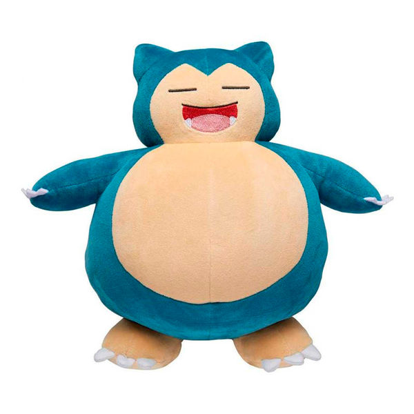 Peluche Snorlax Snooze Action Pokémon 25 cms
