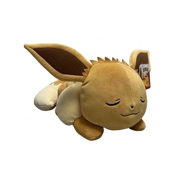 Eevee Sleeping Plush Pokémon 45 cms