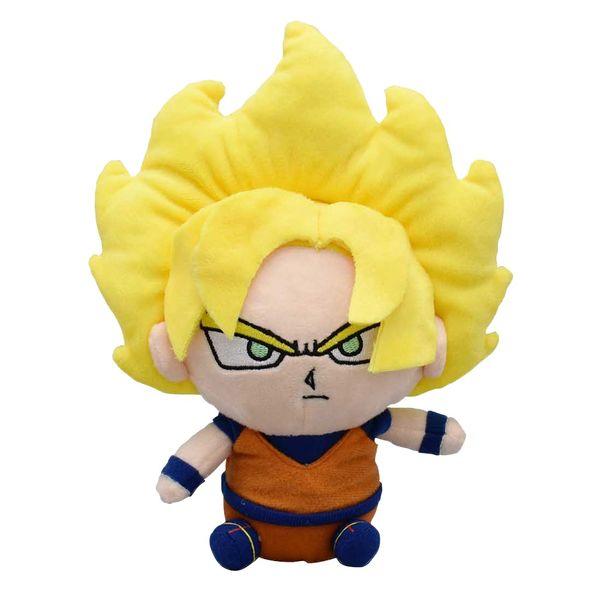 Goku SSJ Plush Dragon Ball 15 cms