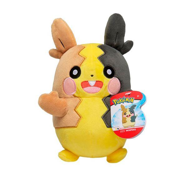 Morpeko Plush Toy Full Belly Pokémon 20 cms