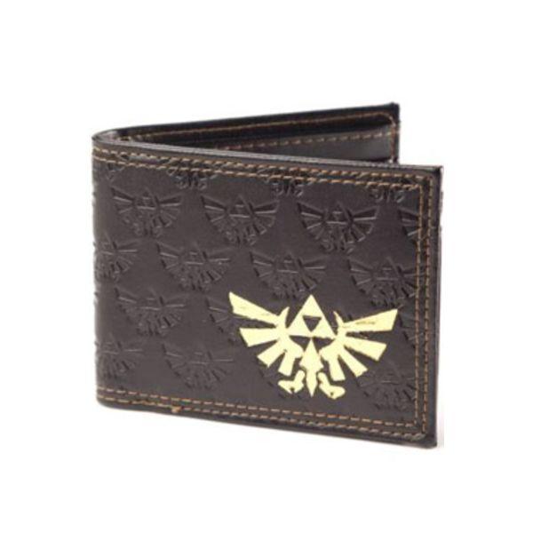 Wallet The Legend of Zelda - Gold Foil Logo