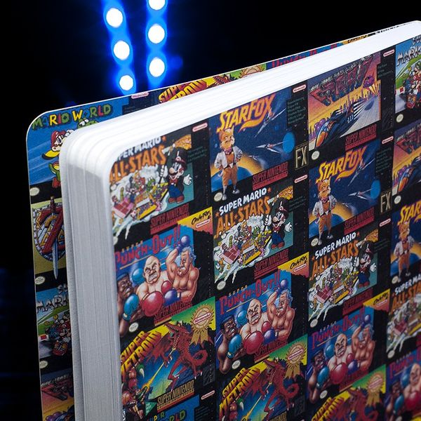 Super Nintendo Notebook A5