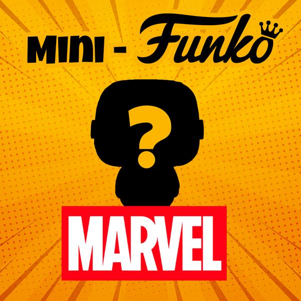 Figura Mini Funko Marvel Comics Aleatoria