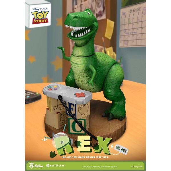 Estatua Rex Toy Story Disney Pixar Master Craft