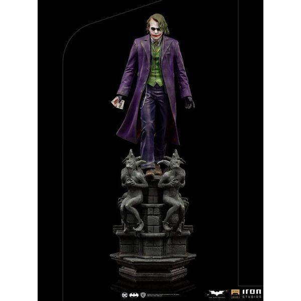 Estatua The Joker Batman El Caballero oscuro Deluxe Art Scale