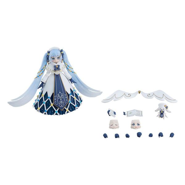 Figma EX 060 Snow Miku Glowing Snow Vocaloid Character Vocal Series 01 Hatsune Miku