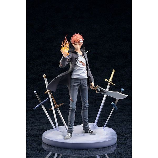 Fate/kaleid liner Prisma Illya Movie: Sekka no Chikai Estatua PVC Shirou Emiya 27 cm