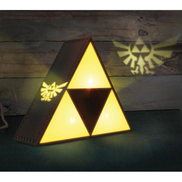 Lámpara Trifuerza Legend of Zelda