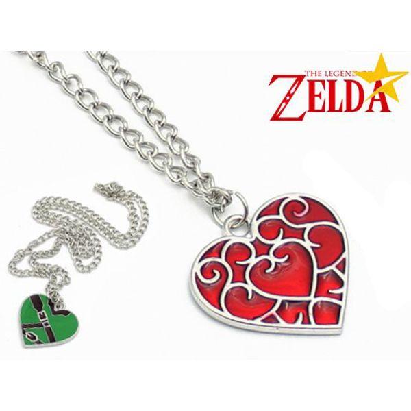 Colgante The Legend of Zelda - Corazon Reversible | Kurogami Tienda ...