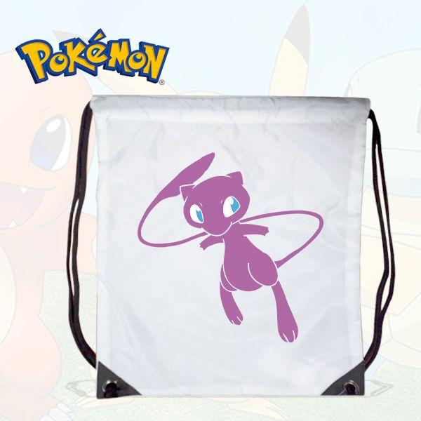 GYM Bag Pokemon - Mew White  8741a087cd28