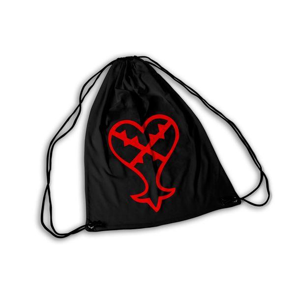 Kingdom Hearts GYM Bag Heartless