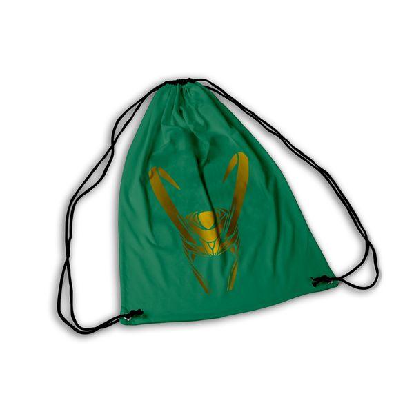 Loki Helmet GYM Bag Marvel Comics