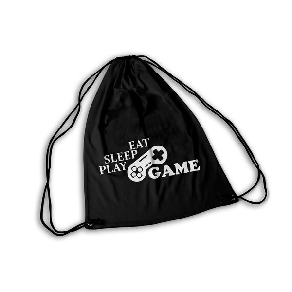 Mochila GYM Play Eat Sleep Game