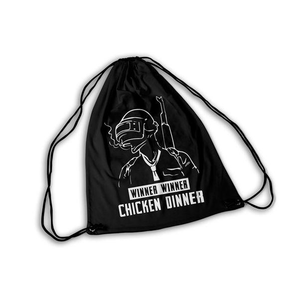 Mochila GYM PlayerUnknows Winner Winner Chicken Dinner