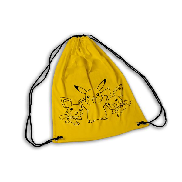 Mochila GYM Pokemon Pikachu and co