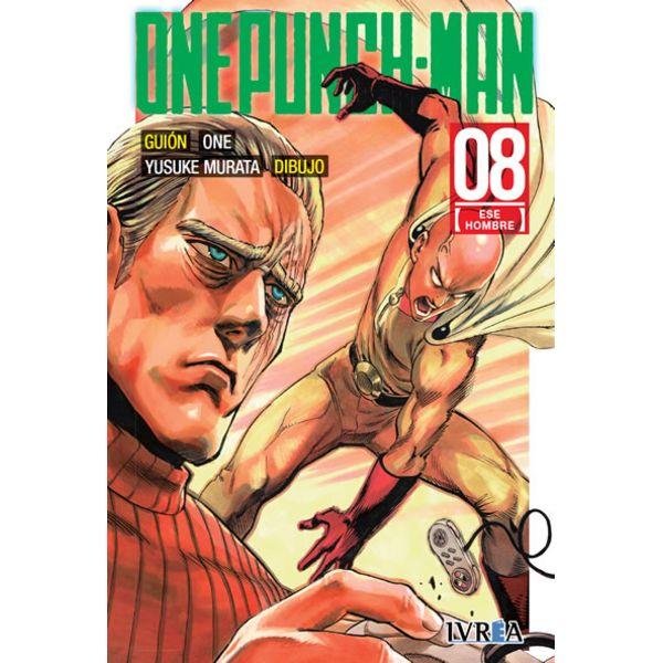 One Punch Man #08 (Spanish) Manga Oficial Ivrea